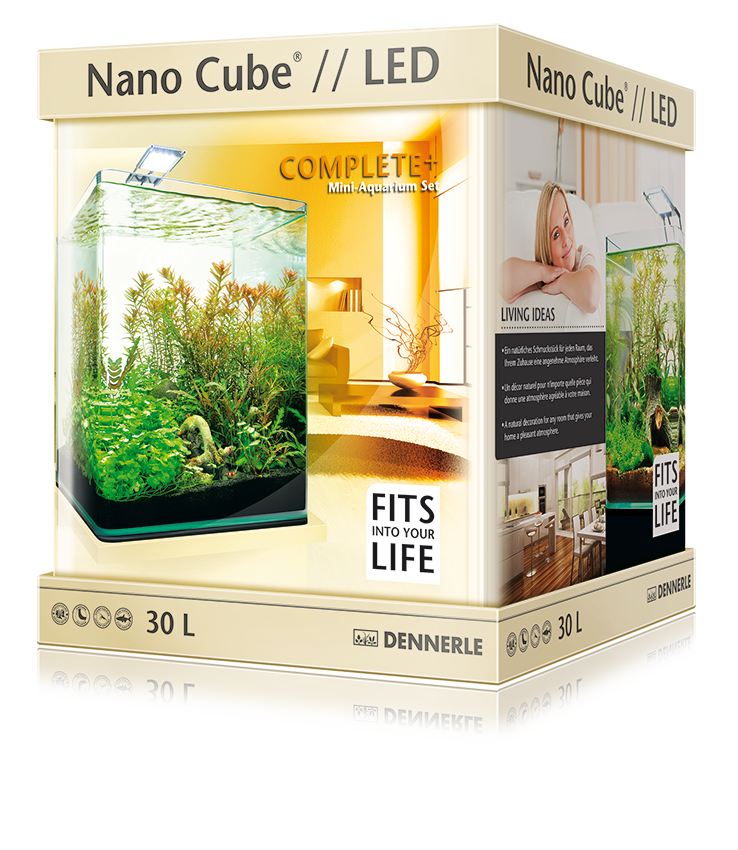 Нано-аквариум Dennerle NanoCube Complete Plus Nano Power LED 30л