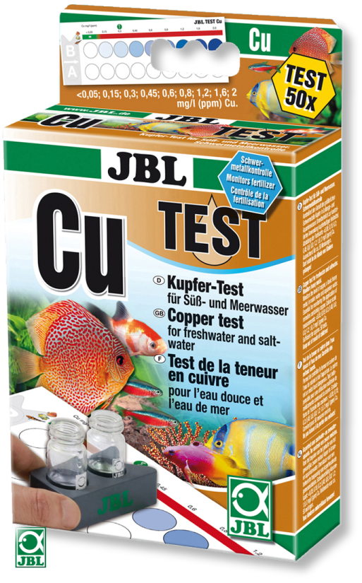 Тест для воды JBL Kupfer Test-Set