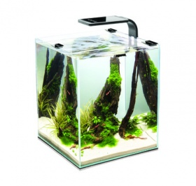 Aквариум Aquael Shrimp Set Smart LED Plant ll 30л черный