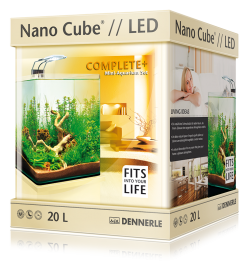 Нано-аквариум Dennerle NanoCube Complete Plus Nano Power LED 20л